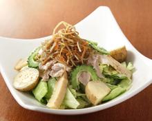 芝麻醬涮豬肉沙拉