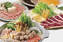 3,600日圓套餐 (8道菜)