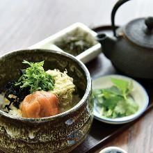 梅乾茶泡飯
