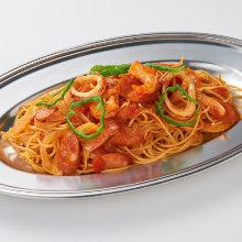 海鮮拿波里義大利麵