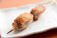 雞上生蠔串