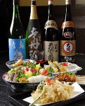 3,980日圓套餐 (7道菜)