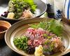 竹筴魚生魚片 竹筴魚炙燒生魚片