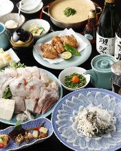 17,010日圓套餐 (8道菜)