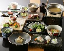 10,800日圓套餐 (8道菜)