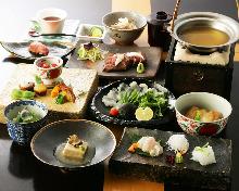 16,200日圓套餐 (9道菜)