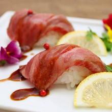 牛肉握壽司