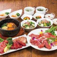 4,000日圓套餐 (18道菜)