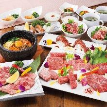 8,000日圓套餐 (20道菜)