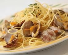 蛤蜊義大利麵