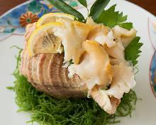 海螺(生魚片)