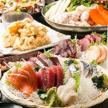 3,980日圓套餐 (8道菜)