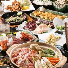 4,480日圓套餐 (9道菜)