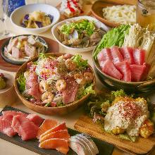 7,700日圓套餐 (10道菜)