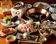 6,500日圓套餐 (9道菜)