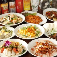 3,500日圓套餐 (8道菜)