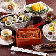 16,000日圓套餐 (9道菜)