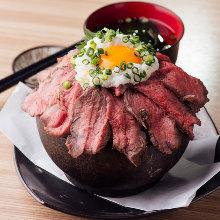 烤牛肉蓋飯
