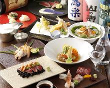 8,500日圓套餐 (9道菜)