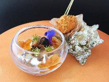 13,000日圓套餐 (7道菜)