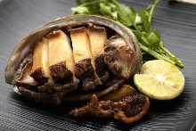 鐵板烤活鮑魚
