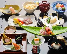 7,700日圓套餐 (9道菜)