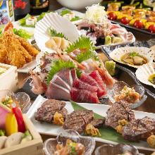 7,560日圓套餐 (11道菜)