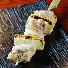 香蔥雞肉串燒