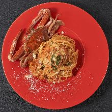 紅蟳茄汁義大利麵