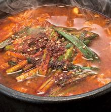 韓式蔬菜肉