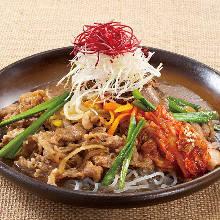 韓式壽喜定食
