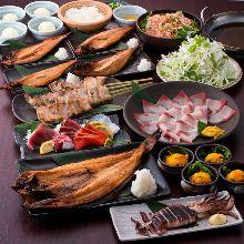 4,500日圓套餐 (9道菜)