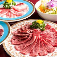 6,776日圓套餐 (9道菜)