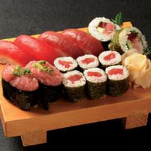 鮪魚壽司拼盤