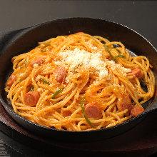 鐵板那不勒斯義大利麵