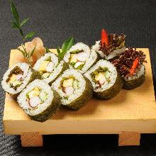 海鮮沙拉捲壽司