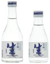 sawa no turu Genuine Brewed Sake