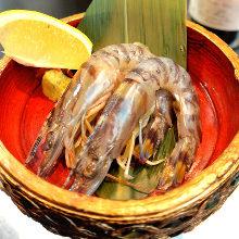 花蝦(刺身)