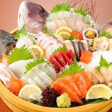 生魚片拼盤