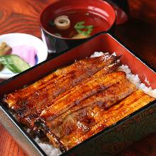 大鰻魚盒飯
