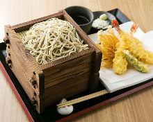 天婦羅笊籬蕎麥麵