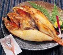 鹽烤石狗公魚