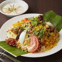印度雞肉香飯