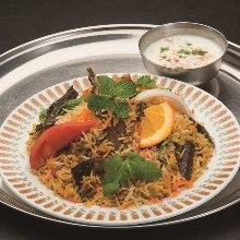 印度羊肉香飯