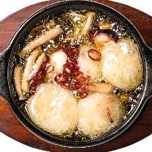 蒜香橄欖油章魚年糕