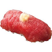 馬赤身握壽司