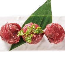 馬肉捲壽司
