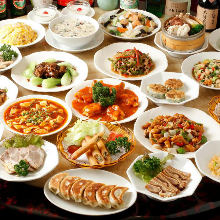 3,880日圓套餐 (70道菜)