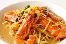 手長蝦美式蝦醬義大利麵