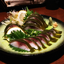 醋鯖魚(生魚片)